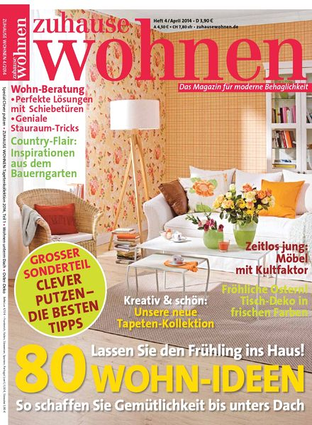 download zuhause wohnen april 04 2014 pdf magazine. Black Bedroom Furniture Sets. Home Design Ideas