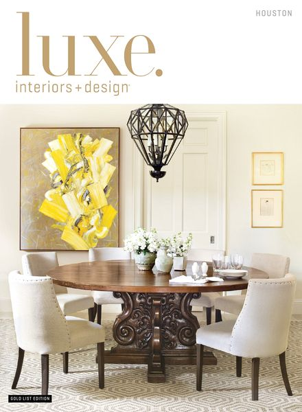 interior design magazine houston edition spring 2014 pdf magazine - Luxe Interiors And Design Magazine