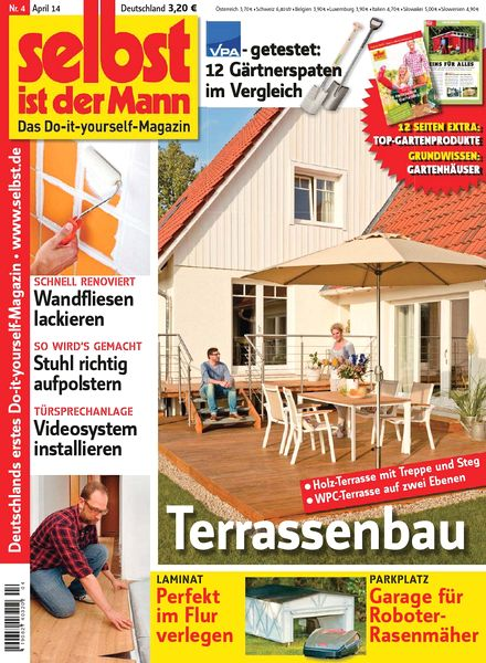 download selbst ist der mann april 04 2014 pdf magazine. Black Bedroom Furniture Sets. Home Design Ideas