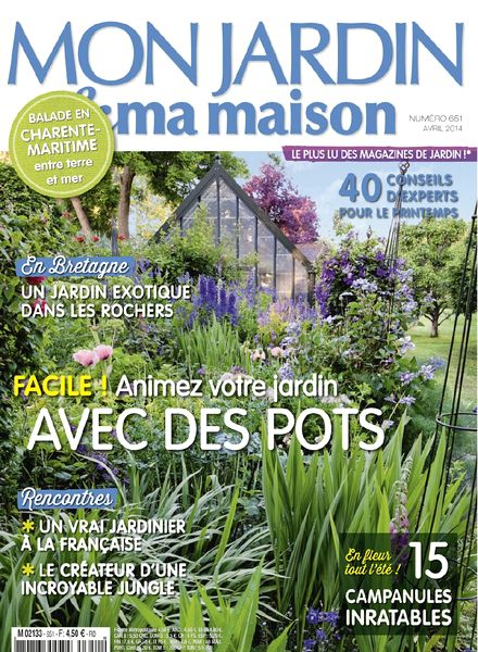 Download mon jardin ma maison n 651 avril 2014 pdf for Magazine maison jardin