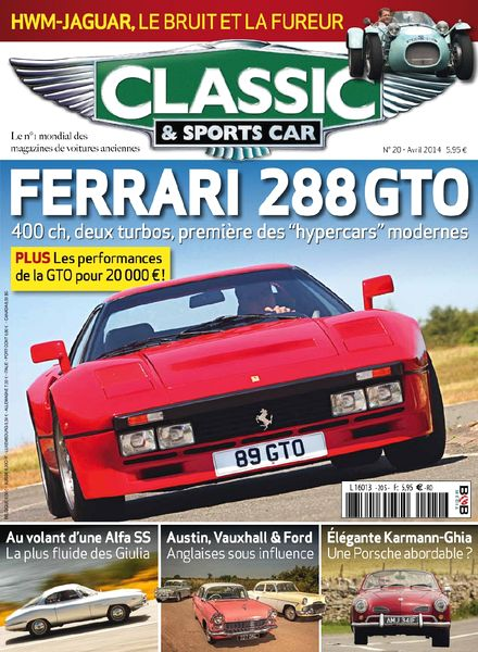 download classic sports car france n 20 avril 2014 pdf magazine. Black Bedroom Furniture Sets. Home Design Ideas