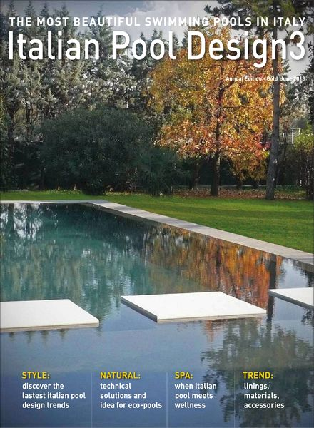 Download italian pool design magazine n 3 pdf magazine for Pool design magazine