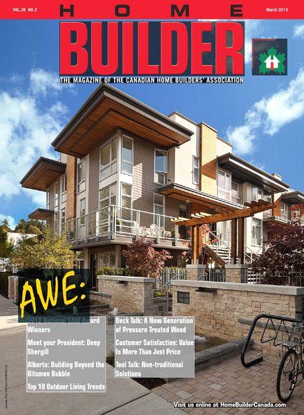 Download Home Builder Canada March April 2013 Pdf Magazine