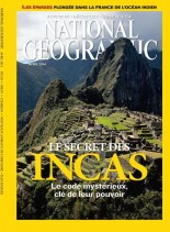 National Geographic France N 175 - Avril 2014