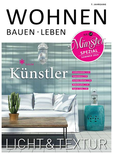 download wohnen bauen leben sommer 2014 pdf magazine. Black Bedroom Furniture Sets. Home Design Ideas