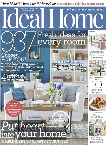 Download ideal home magazine may 2014 pdf magazine for Home style subscription