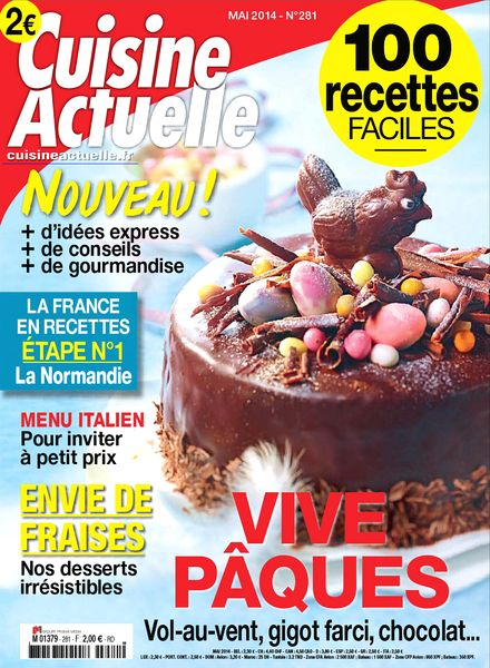 download cuisine actuelle n 281 mai 2014 pdf magazine. Black Bedroom Furniture Sets. Home Design Ideas