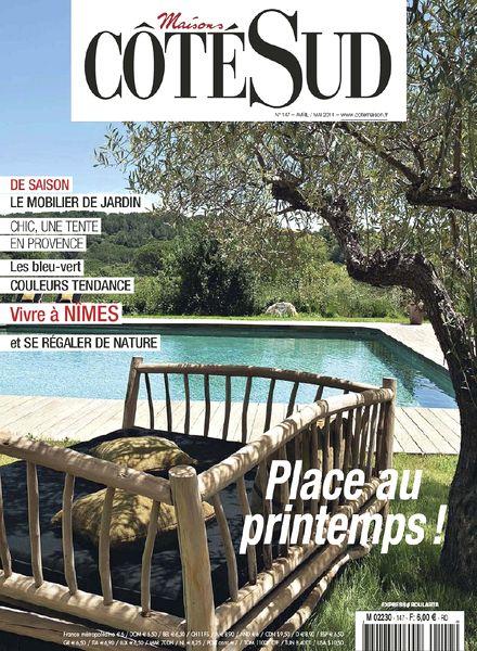 download maisons cote sud n 147 avril mai 2014 pdf magazine. Black Bedroom Furniture Sets. Home Design Ideas