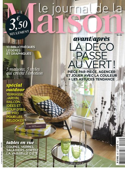 download le journal de la maison n 465 mai 2014 pdf magazine. Black Bedroom Furniture Sets. Home Design Ideas