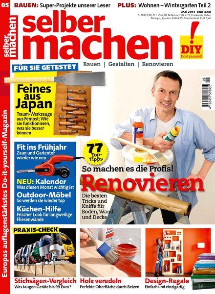 download selber machen heimwerkermagazin mai n 05 2014 pdf magazine. Black Bedroom Furniture Sets. Home Design Ideas