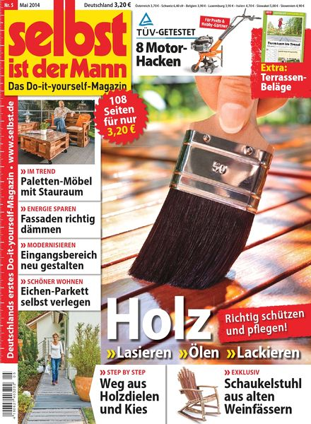 download selbst ist der mann heimwerkermagazin mai n 05. Black Bedroom Furniture Sets. Home Design Ideas