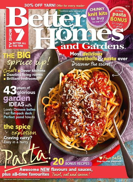 Download better homes and gardens australia may 2014 Bhg australia