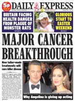 Daily Express - Thursday, 17 April 2014