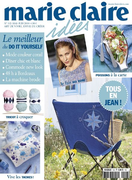 Download marie claire idees n 102 mai juin 2014 pdf for Marie mai miroir download