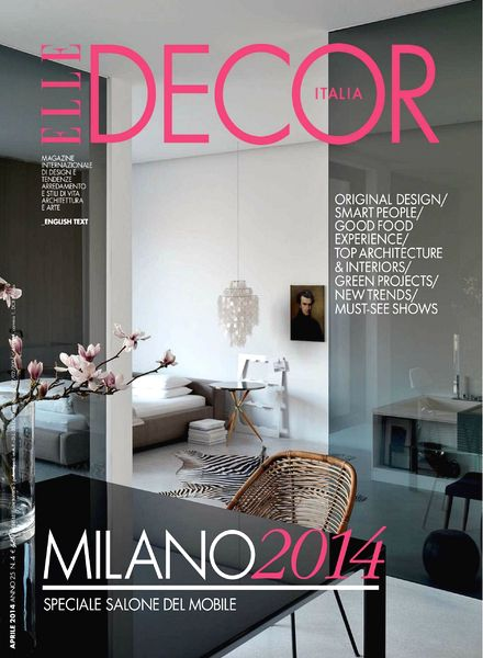 Download Elle Decor Italia Aprile 2014 Pdf Magazine