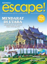 Escape! Indonesia - March-May 2014