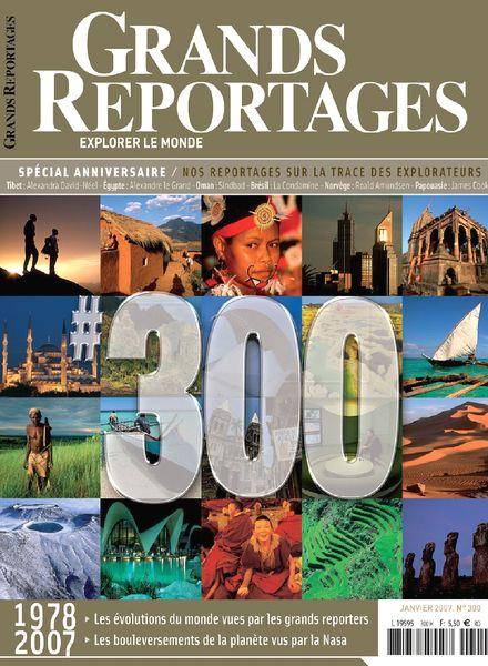 download grands reportages n 300 janvier 2007 pdf magazine. Black Bedroom Furniture Sets. Home Design Ideas