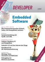 IX Developer Magazin Embedded Software Marz N 02, 2014