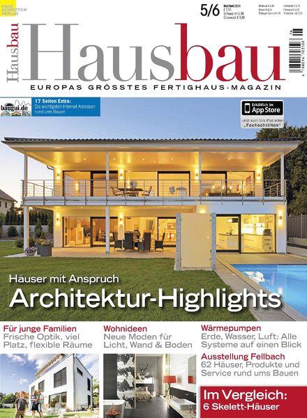 download hausbau mai juni 2014 pdf magazine. Black Bedroom Furniture Sets. Home Design Ideas