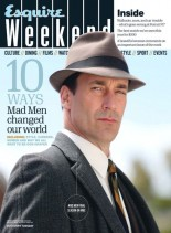 Esquire Weekend - 22-28 April 2014