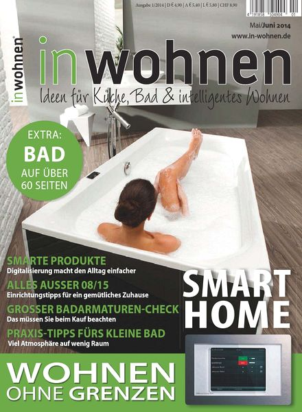 download in wohnen magazin mai juni n 01 2014 pdf magazine. Black Bedroom Furniture Sets. Home Design Ideas