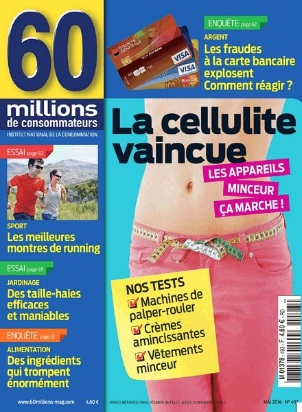 download 60 millions de consommateurs n 493 mai 2014 pdf magazine. Black Bedroom Furniture Sets. Home Design Ideas