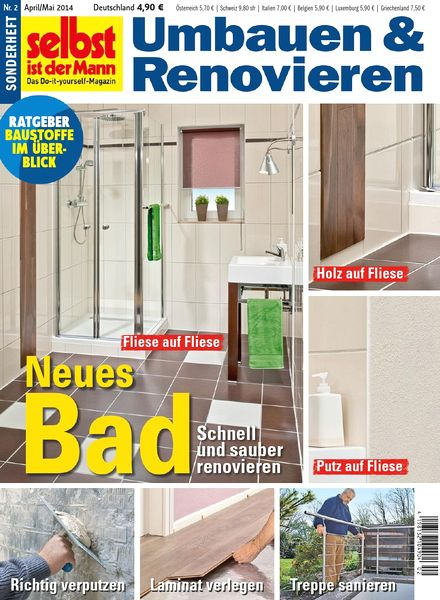 download selbst ist der mann sonderheft umbauen renovieren april mai 02 2014 pdf magazine. Black Bedroom Furniture Sets. Home Design Ideas