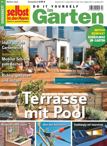 download selbst ist der mann do it yourself im garten mai juni n 03 2014 pdf magazine. Black Bedroom Furniture Sets. Home Design Ideas
