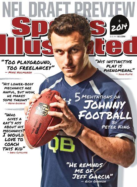 Sports magazine covers 2014