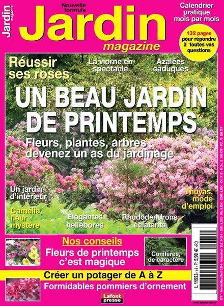 Download jardin magazine n 47 fevrier mars avril 2014 for Jardin fevrier