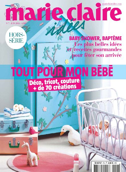download marie claire idees hors serie n 7 juin 2014 pdf magazine. Black Bedroom Furniture Sets. Home Design Ideas