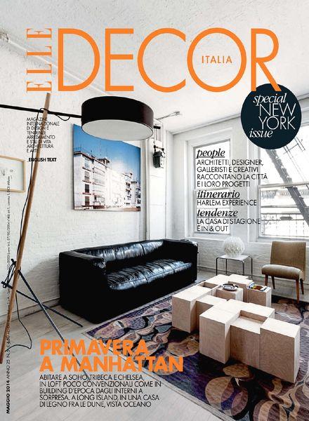 Download elle decor italia maggio 2014 pdf magazine for Elle decor italia