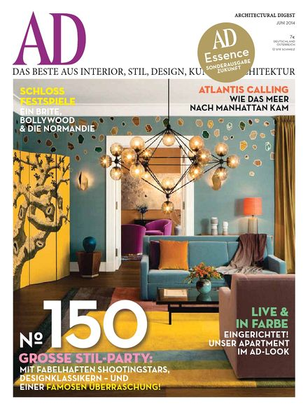 AD Architectural Digest Germany Juni 06, 2014