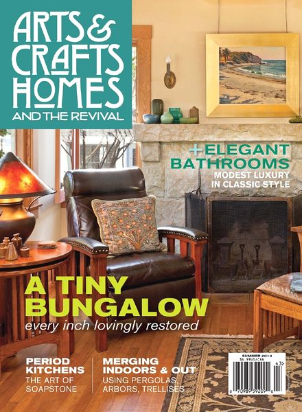Download arts crafts homes summer 2014 pdf magazine for Arts and crafts home magazine