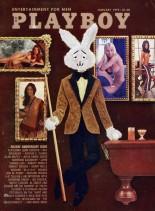Playboy USA - January 1972