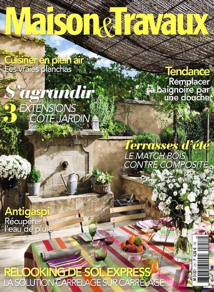 download maison travaux n 257 juin 2014 pdf magazine. Black Bedroom Furniture Sets. Home Design Ideas