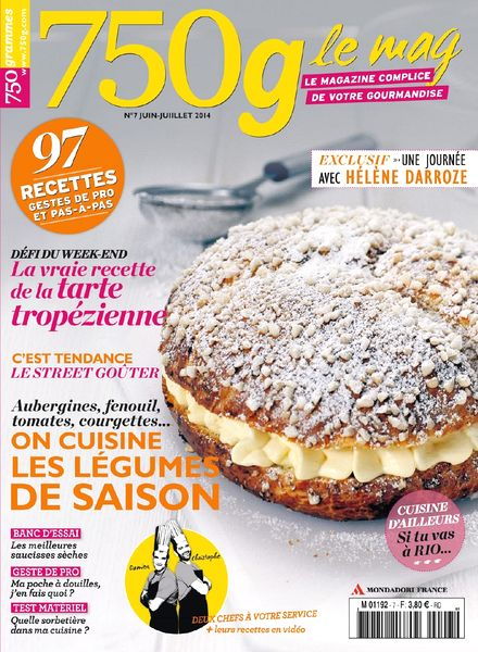 750g Le mag N 7 – Juin-Juillet 2014