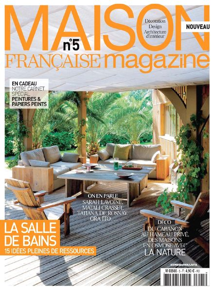Download maison francaise magazine n 5 mai juin 2014 for Maison francaise magazine abonnement
