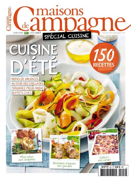 download maisons de campagne hors serie n 2 special cuisine d ete 2014 pdf magazine. Black Bedroom Furniture Sets. Home Design Ideas