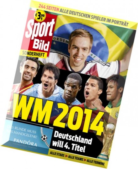 download sport bild magazin sonderheft wm 2014 mai 2014. Black Bedroom Furniture Sets. Home Design Ideas