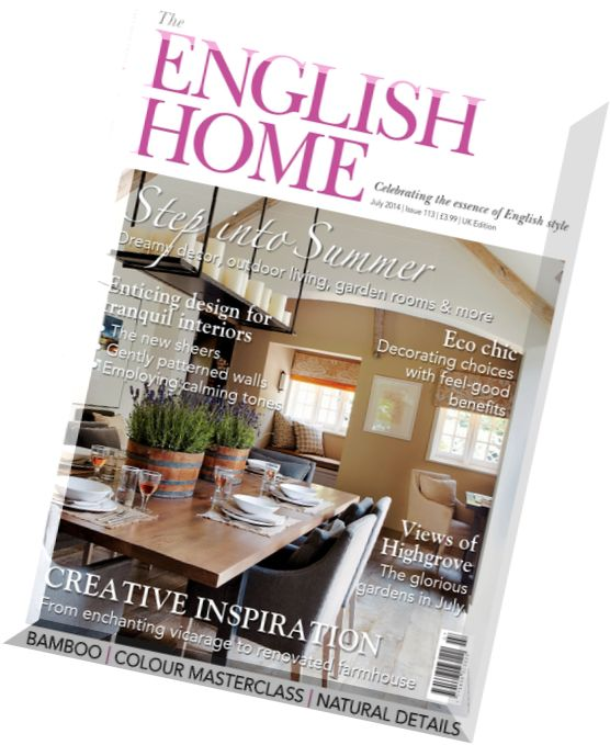 Download the english home magazine july 2014 pdf magazine for English house magazine