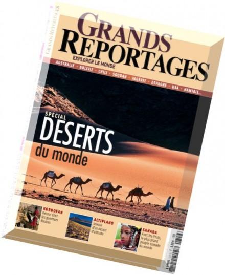 download grands reportages n 309 octobre 2007 pdf magazine. Black Bedroom Furniture Sets. Home Design Ideas