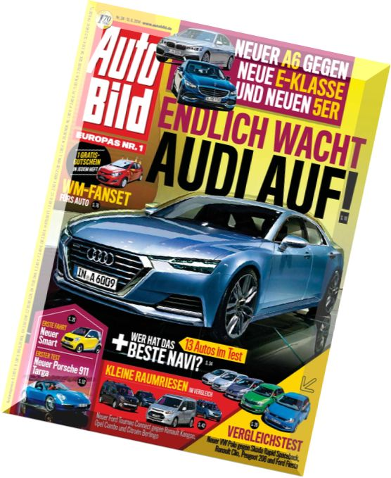 download auto bild germany 24 2014 pdf magazine. Black Bedroom Furniture Sets. Home Design Ideas