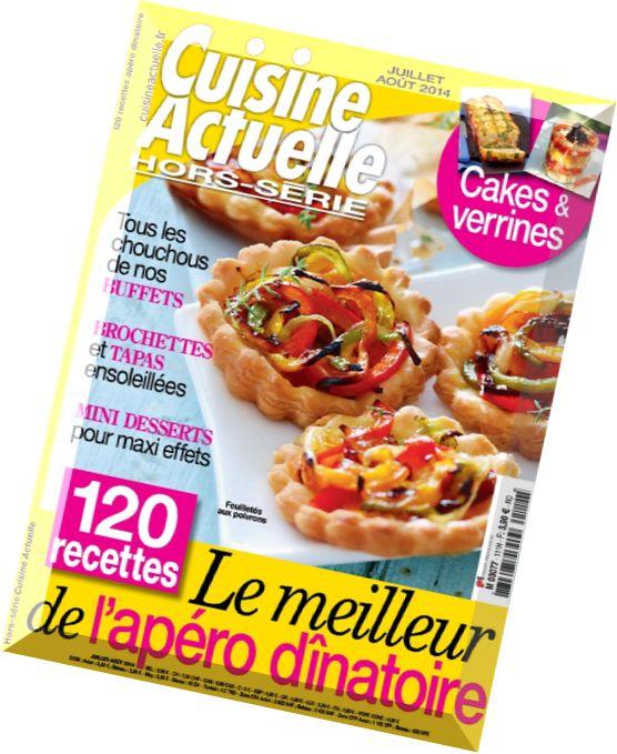 download cuisine actuelle hors serie n 111 juillet aout 2014 pdf magazine. Black Bedroom Furniture Sets. Home Design Ideas