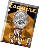 Esquire Mexico The Big Watch Book 2014