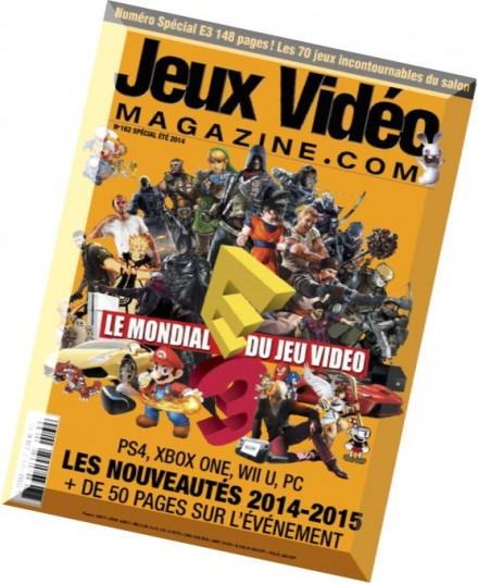 download jeux video magazine n 162 ete 2014 pdf magazine. Black Bedroom Furniture Sets. Home Design Ideas