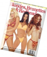 Playboy's Blondes, Brunettes & Redheads - May 2002