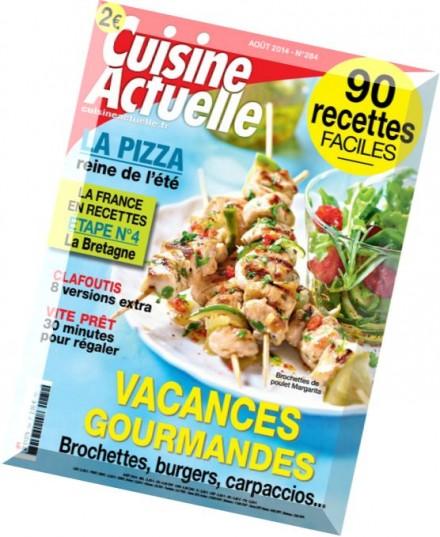 Download cuisine actuelle n 284 aout 2014 pdf magazine for Cuisine actuelle