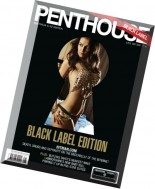 Penthouse Black Label Australia - August 2014