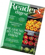 Reader's Digest Germany -  August 2014